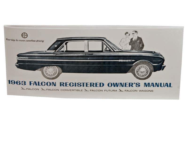 1963 Falcon Owner's Manual