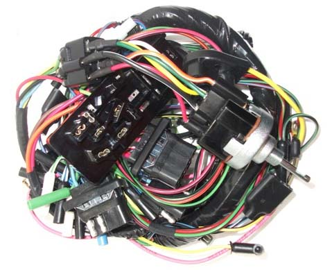 63 falcon complete under dash wiring harness w/ fuse box ... 63 falcon fuse box 1964 ford falcon fuse box diagram