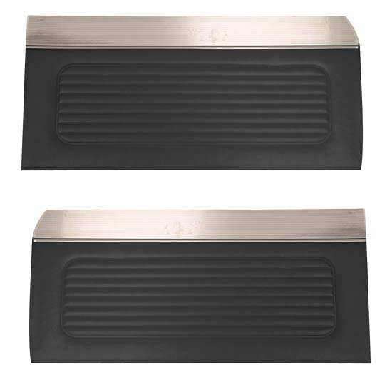 64 Falcon Futura 4 Door Sedan & Station Wagon Door Panels, Pair, Black