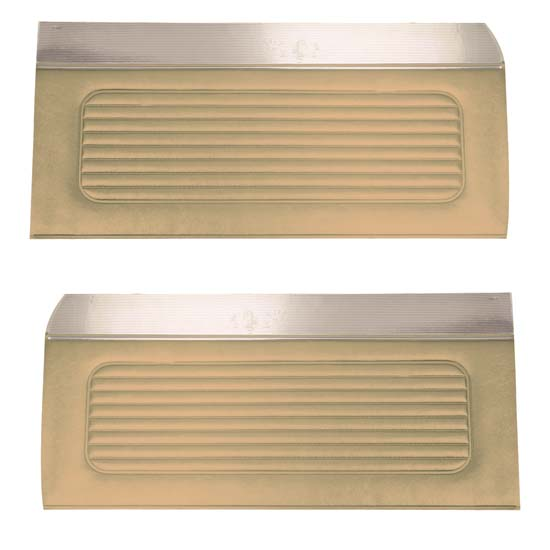 64 Falcon Futura 4 Door Sedan & Station Wagon Door Panels, Pair, Palomino