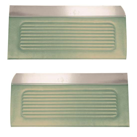 64 Falcon Futura 4 Door Sedan & Station Wagon Door Panels, Pair, Ivy Gold Metallic