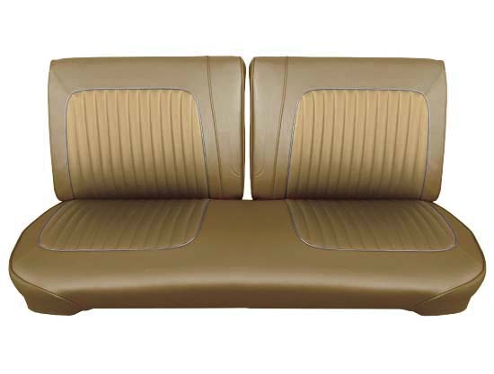 64 Falcon Futura Convertible Front Split Bench Seat Upholstery, Palomino