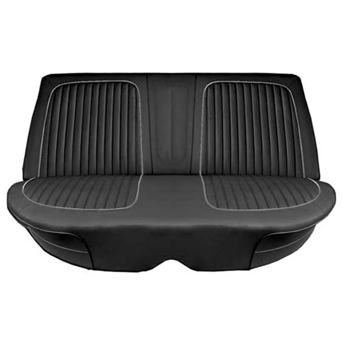 64 Falcon Futura 4 Door Sedan Rear Bench Seat, Black